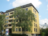 Aussenansicht Wohnheim Schwabing München