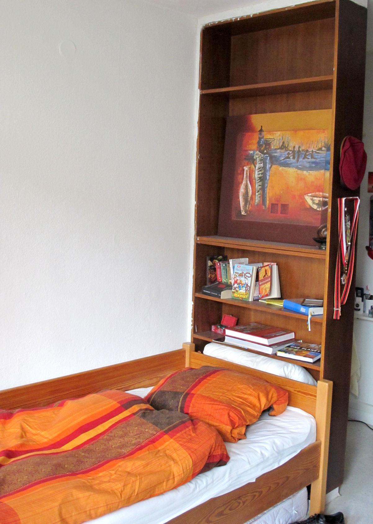 Zimmer Bett Deutsche Burse Wohnheim Schwabing